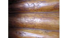герметизация швов в деревянном доме герметиком Абрис